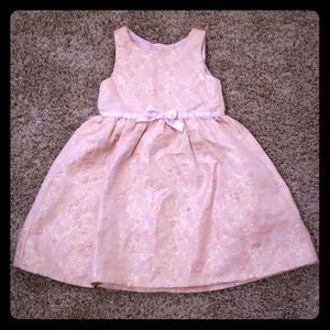 💥3/$25 H&M girls dress with bow size 6-7Y